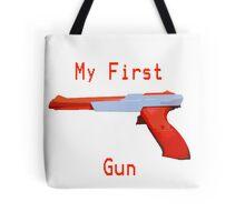 My First Gun Tote Bag
