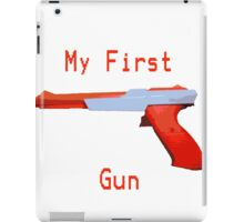 My First Gun iPad Case/Skin
