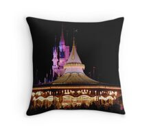 Fantasyland- Magic Kingdom Throw Pillow