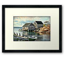 Peggy's Cove, Nova Scotia Framed Print