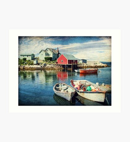 Peggy's Cove, Nova Scotia Art Print