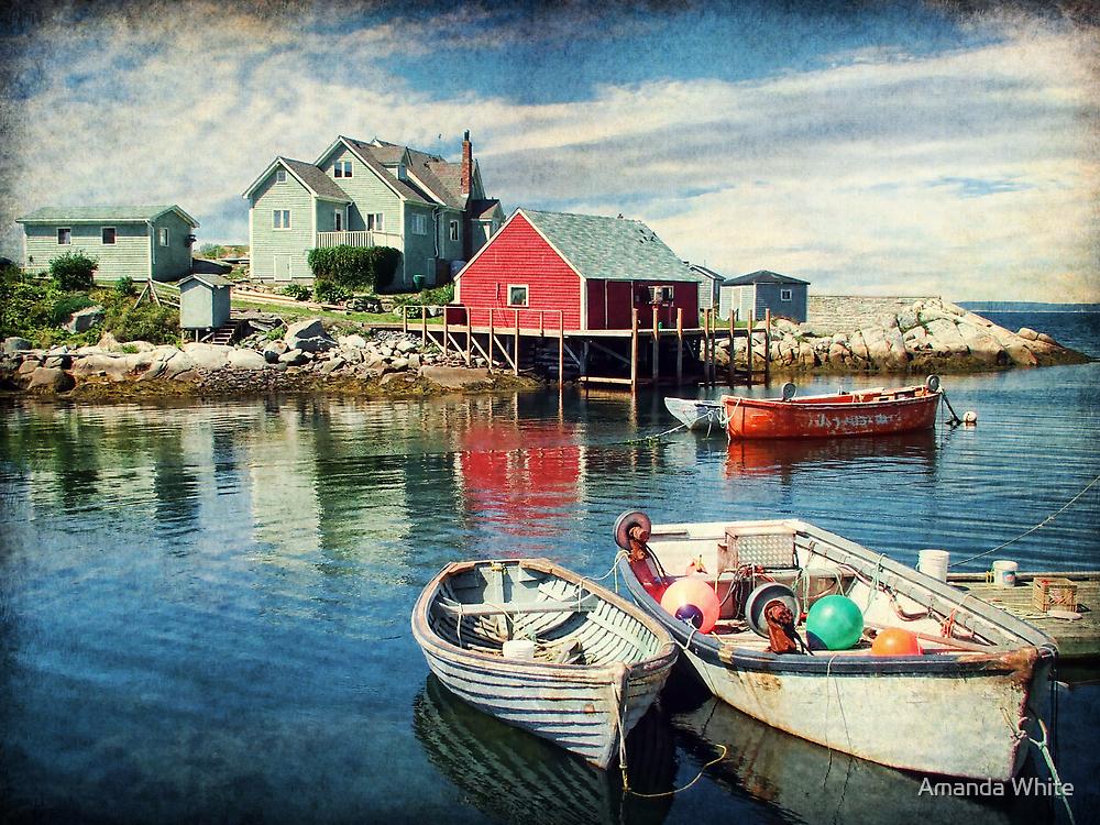 Peggy's Cove, Nova Scotia by Amanda White