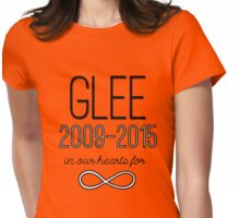 Glee Forever Womens Fitted T-Shirt