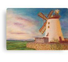Ballycopeland Windmill, Northern Ireland Canvas Print