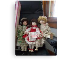 old dolls! Canvas Print