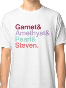 The Crystal Gems - Gem Colors Classic T-Shirt
