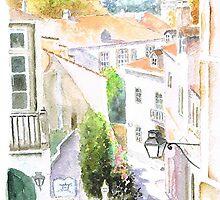 rua da ferraria sintra by Almeida Coval