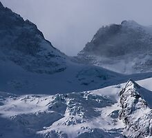 Glacier de la Meije, The French Alps by Elizabeth Turner