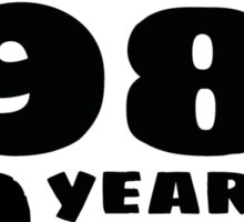 Born in 1985 - 30 Years of Awesome Sticker