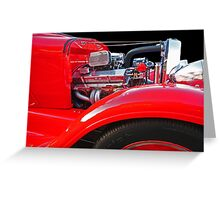 Lil' Red Truck © Greeting Card