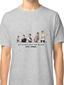 Evolution of Glee    Kurt Classic T-Shirt