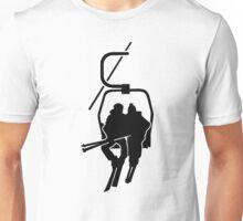 Chairlift ski lift Unisex T-Shirt