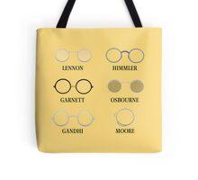 Circular Glasses Tote Bag
