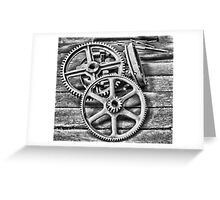 Cogs of Industry Greeting Card