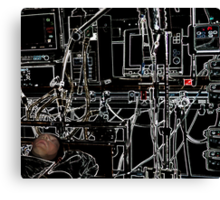 *Automation*...(Welcome To The Machine) Canvas Print