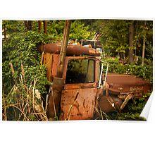 truck garden Poster