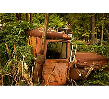 truck garden Photographic Print