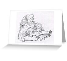 Bedtime Stories Greeting Card