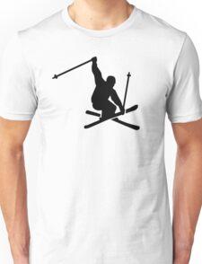 Skiing jump Unisex T-Shirt