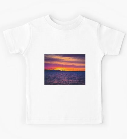 Sunrise Over The Severn River - Annapolis, MD Kids Tee