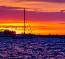 Sunrise Over The Severn River - Annapolis, MD Sticker