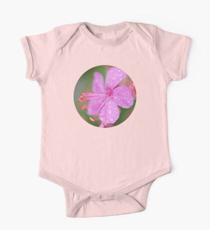 Pretty In Pink One Piece - Short Sleeve