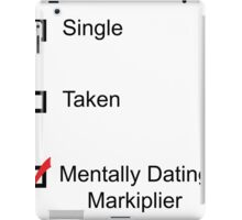 Mentally Dating Markiplier iPad Case/Skin