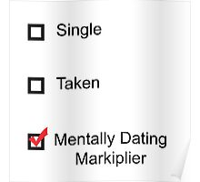 Mentally Dating Markiplier Poster