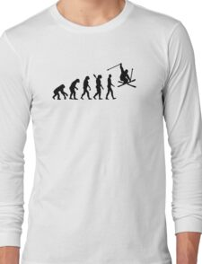 Evolution skiing Long Sleeve T-Shirt