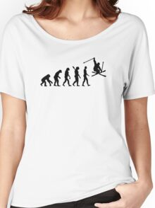 Evolution skiing Women's Relaxed Fit T-Shirt