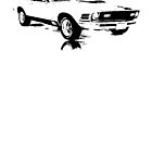1970 Ford Mustang  by garts