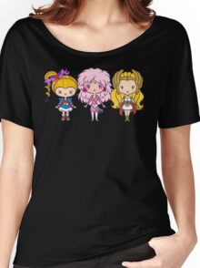 Lil' CutiEs - Eighties Ladies Women's Relaxed Fit T-Shirt