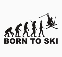 Evolution born to ski by Designzz