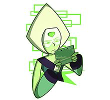 Gamer Dorito (Peridot) Photographic Print