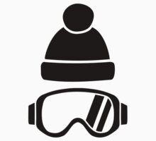 Ski goggles hat One Piece - Short Sleeve