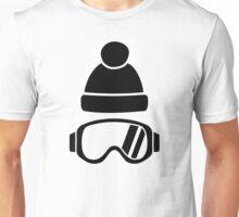 Ski goggles hat Unisex T-Shirt