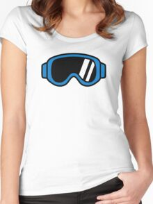 Ski goggles Women's Fitted Scoop T-Shirt