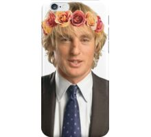 Owen Wilson Flower Crown iPhone Case/Skin