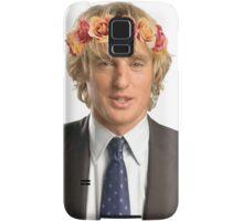 Owen Wilson Flower Crown Samsung Galaxy Case/Skin