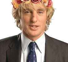 Owen Wilson Flower Crown by katiej188