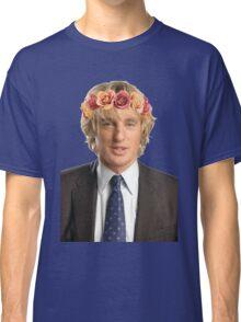 Owen Wilson Flower Crown Classic T-Shirt