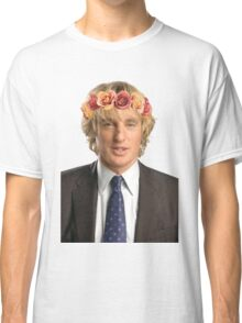 Owen Wilson Flower Crown Classic T-Shirt