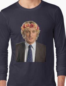 Owen Wilson Flower Crown Long Sleeve T-Shirt