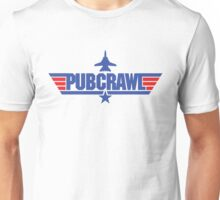 Custom Top Gun - Pubcrawl Unisex T-Shirt