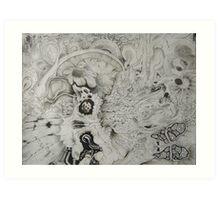 Brain Stew (tiffs pic) Art Print