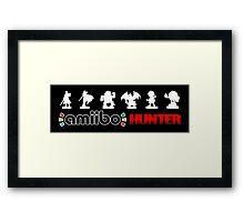 Amiibo Hunter - Smash Bros. Wave 4 Framed Print