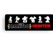 Amiibo Hunter - Smash Bros. Wave 4 Canvas Print