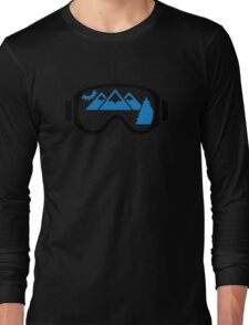 Ski goggles mountains Long Sleeve T-Shirt
