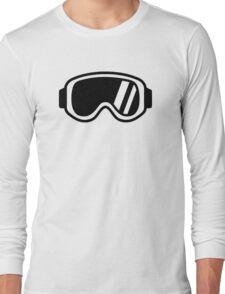 Skiing goggles Long Sleeve T-Shirt
