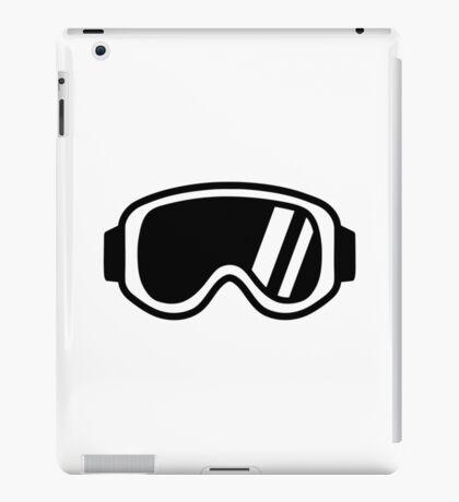 Skiing goggles iPad Case/Skin